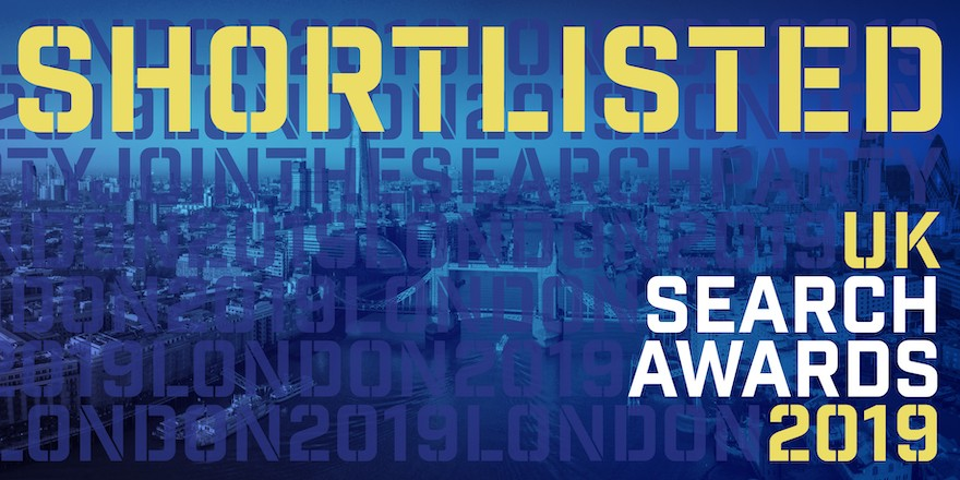 Cedarwood Digital Shortlisted for UK Search Awards 2019