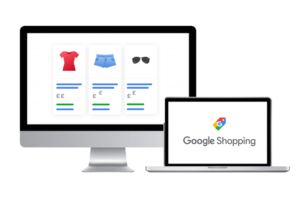 Google Shopping Graphics - Cedarwood Digital Manchester PPC & SEO Agency