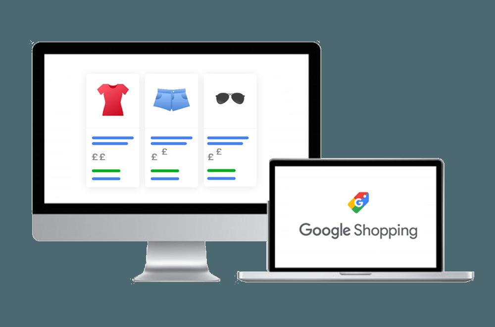 Google Shopping Graphics - Cedarwood Digital Manchester PPC & SEO Agency